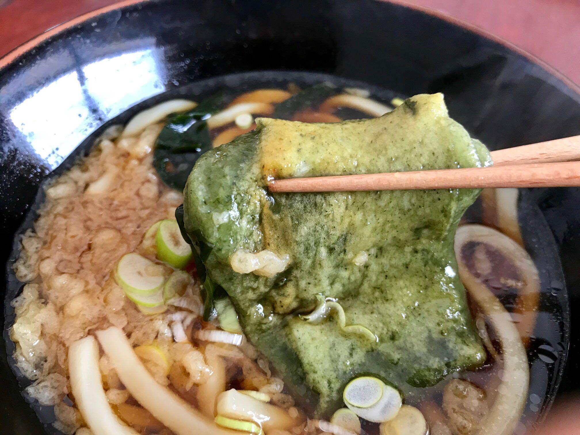うどん+餅