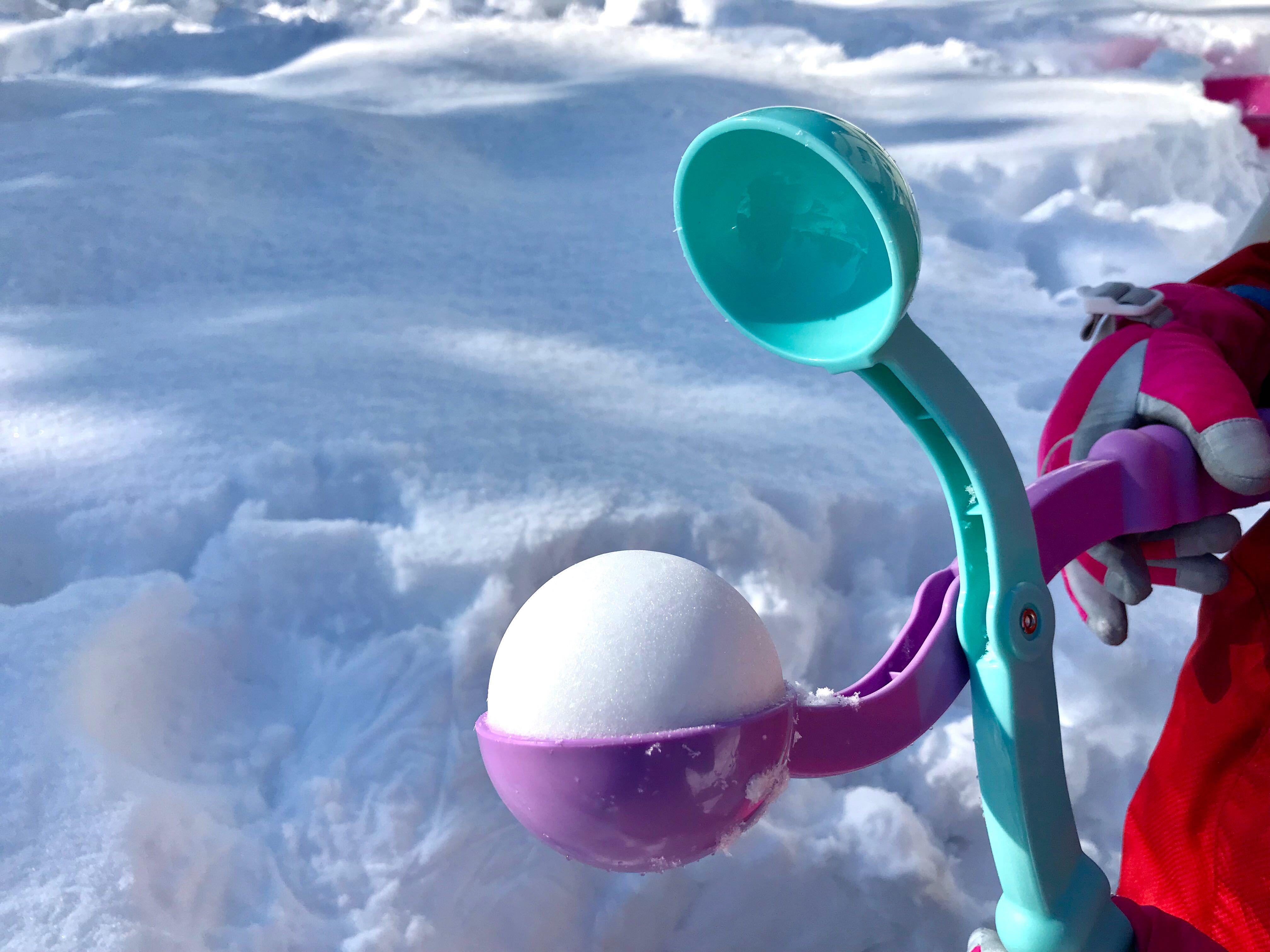 雪玉製造器